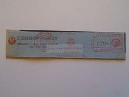ZA114.19   Yugoslavia  1961   Meter Cut / Freistempel / EMA / Machine Stamps  Beograd Technopromet - Cartas