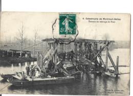 49 -  Catastrophe De MONTREUIL-BELLAY  -  Travaux Du Relevage   78 - Montreuil Bellay