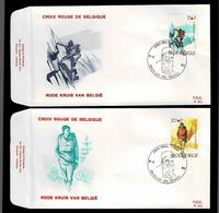 FDC :  Nr 2082/83 Stempel: Bruxelles 1000 Brussel - 1981-90
