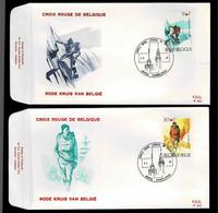FDC :  Nr 2082/83 Stempel: 6000 Charleroi - 1981-90