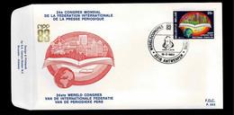 FDC :  Nr 2084 Stempel:  2018 Antwerpen - 1981-90