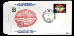 FDC :  Nr 2084 Stempel:  4800 Verviers - 1981-90