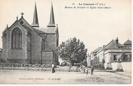 A/245       71     Le Creusot          Maison De Retraite & Place De L'église - Le Creusot