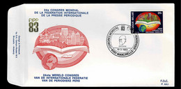 FDC :  Nr 2084 Stempel:  6001 Marcinelle - 1981-90