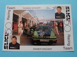 Thomas & Rainer KRÜGER > SLICK 50 Racing Team ( Zie / See / Voir Photo ) ! - Autres