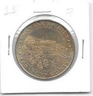 Médaille Touristique  Monnaie  De  Paris  2007, Ville, CHATEAU  DE  JOUX, FRANCHE - COMTE - 2007