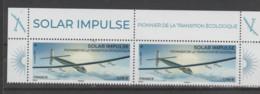 FRANCE / 2021 / Y&T N° 5499 ? ** : Solar Impulse X 2 = Haut Du Feuillet - Ungebraucht