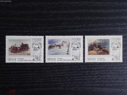 RUSSIE/RUSSIA/RUSSLAND/ROSJA 1996 MI.502-04 ** ,ZAG.283-85,YVERT. - Ungebraucht