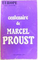 Europe - Centenaire De Marcel Proust - 496-497 Août Septembre 1970 - Sin Clasificación