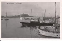 Antibes (06 - Alpes Maritimes) Le Port - édit. étoile N° 2 Type Carte Photo - Zonder Classificatie