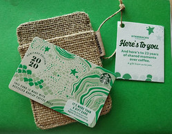 Starbucks Card Singapore 2020 Heritage Edition Unused Pin Intact - Gift Cards
