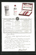 AK Coréine, Neurène & Cholergine, Medikament - Publicité
