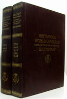Standard Dictionary Of The English Language International Edition Combined With Britannica World Language Dictionary (en - Dictionaries