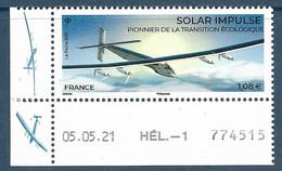Solar Impulse - Pionnier De La Transition écologique Coin Daté (2021) Neuf** - Neufs