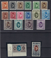 ⭐ Egypte - YT N° 118 à 130 ** - Neuf Sans Charnière - 1927 / 1932 ⭐ - Unused Stamps