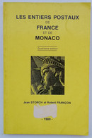"""CATALOGUE """" ENTIER POSTAUX FRANCE/MONACO DE 1989 """" BON ETAT . A SAISIR - France"""