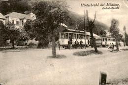 Oostenrijk Austria - Hinterbruhl - Modling - Bahnhofplatz Tram - 1922 - Non Classificati