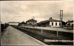 Oostenrijk Austria - Pfaffstatten - Bahnhof Fotokaart Photocard - 1930 - Non Classificati
