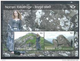 Féroé 2008 Bloc N° 23 (n°632/633) Neufs Norden Mythologie - Färöer Inseln