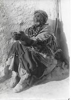 Photo 1925 - TAZA (Maroc) - Vieux Mendiant Aveugle - - Unclassified