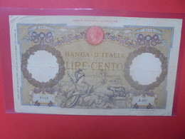 ITALIE 100 LIRE 1936 Circuler (B.23) - 100 Lire
