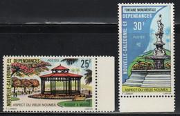 Nouvelle Calédonie N° Yvert 402, 403  Aspect Du Vieux Nouméa, Kiosque, Fontaine - Nuevos