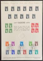 ⭐ France - Document Philatélique - Premier Jour - Thématique Marianne - 1978  ⭐ - 1970-1979