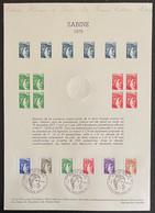 ⭐ France - Document Philatélique - Premier Jour - Thématique Marianne - 1979  ⭐ - 1970-1979
