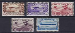 ⭐ Egypte - YT N° 150 à 154 ** - Neuf Sans Charnière - 1933 ⭐ - Nuovi