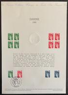 ⭐ France - Document Philatélique - Premier Jour - Thématique Marianne - 1980  ⭐ - 1980-1989