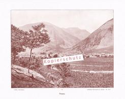 048-4 Photoglob Tirano Veltlin Oberitalien Sondrio Druck 1901!! - Altri