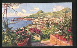 Künstler-AK Funchal, Cidade - Unclassified