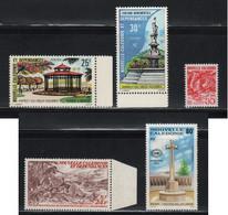 Nouvelle Calédonie ** N° Yvert  402, 403, 638, PA 171, PA 269 - Nuevos