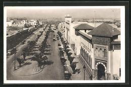 CPA Casablanca, Boulevard Des 4 Ième Zouaves - Casablanca