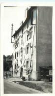 Photo Format Cp - TARARE 69 Fête Des Mousselines Juillet 1955 - Immeuble H.L.M Route De Paris - Lieux