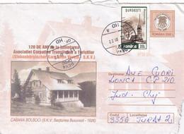 A9704- BOLBOCI INN BUCHAREST 1926, MARAMURES USED STAMP ON COVER, DEVA 2001 ROMANIA COVER STATIONERY - Postal Stationery