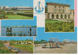 ROMANIA 1973: LITORAL VUES - FISHING Used Prepaid Stationery Card 294/1973 - Registered Shipping! - Postal Stationery