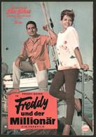 Filmprogramm IFB Nr. 05965, Freddy Und Der Millionär, Freddy Quinn, Grit Böttcher, Regie: Paul May - Revistas