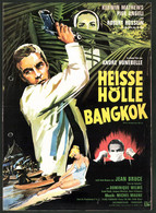 Filmprogramm Film-Börse, Heisse Hölle Bangkok, Robert Hossein, Pier Angeli, Regie: André Hunebelle - Revistas