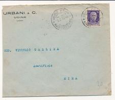1932  PERFIN URBANI E C UDINE - Storia Postale