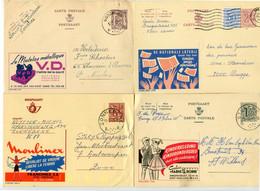 4 Verschillende Gelopen Publibel Kaarten Nrs 863 - 2697n - 1537 - 2169 - Zie Zegels, (slogan) Stempels + Andere - Publibels