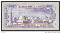 YEMEN ARAB P. 19b 20 R 1985 UNC - Yemen