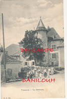 01 // VESANCY    Le Chateau  / Cachet Indive IV Au Verso - Altri Comuni