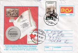A9732- INTERNATIONAL PRIZE ASIAGO ITALY FOR ROMANIAN POSTAL MARK 1998, PLOIESTI 2000 ROMANIA COVER STATIONERY - Postal Stationery