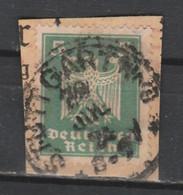 DEUTSCHES REICH 1924 STUTTGART 1 Postmark Stempel Pmk Cancel, Germany Germania Allemania F EAGLE - Gebruikt