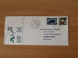 Eerste KLM Vlucht Constanta-Varna-Amsterdam 5 Juni 1964. - Airmail