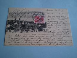 Carte Précurseur De Lausanne, Cachet Montreux 1909 - VD Vaud