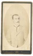 Photo CDV Homme à La Moustache, Photographe à Tarascon , Blanchin - Personas Anónimos