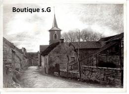 Photo Lieux Environ De Dijon Village Maison Eglise Rue Ruelle 18x13cm - Lugares