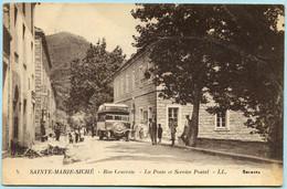 [20] [2A] - SAINTE-MARIE-SICHE - Rue Centrale - La Poste Et Le Service Postal (circulée En 1932) - Non Classés